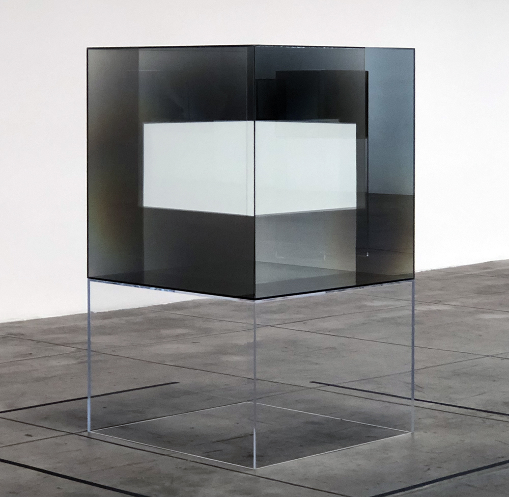 """""""Larry Bell: Complete Cubes"""""""