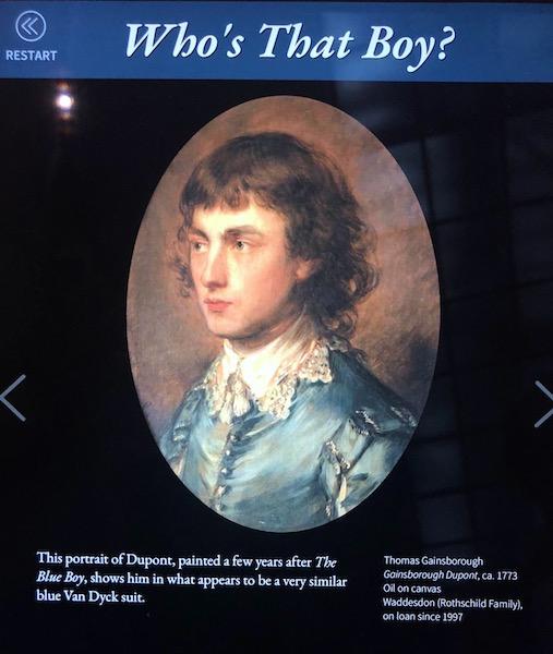 Was Dupont Gainsborough the true Blue Boy?